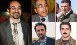 5 تن از فعالین مدنی آذربایجانی که در اعتصاب غذا به سر می برند
